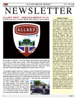 AMW Newsletter Vol. 5 – Fall 2009