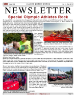 AMW Newsletter Vol.14 – Fall 2013
