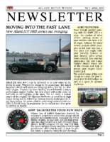 AMW Newsletter Vol. 3 – 2008