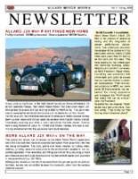 AMW Newsletter Vol. 4 – Spring 2009