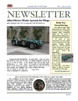 AMW Newsletter Vol. 1 – 2006